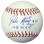 PEDRO MARTINEZ AUTOGRAPHED SIGNED MLB BASEBALL RED SOX