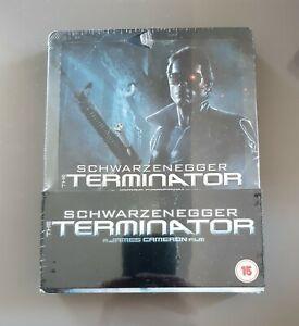 Terminator Steelbook première édition Play.com UK NEUF