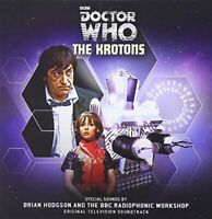 Doctor Who The Krotons Original TV Soundtrack Sealed {Audio CD}