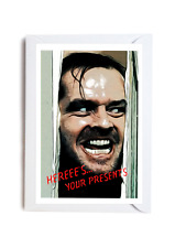 The Shining Stephen King Birthday Classic Horror A6 Card Funny Novelty