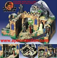 Kinder Diorama Alemán Tor Zum Berg Set Señor Anillos Lord Rings Bastelbogen