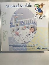 Beatrix Potter Peter Rabbit Baby Musical Mobile Luv n' care New In Box Free Ship