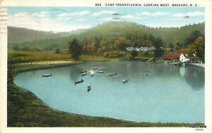 1940s Brevard North Carolina Camp Transylvania West Asheville Teich 6661