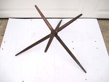 Vintage Large Solid Brass Finial Weathervane Lightning Rod  Star 6 Prong Jack