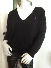 Polo Ralph Lauren Damen Strickpullover schwarz Gr M 38 Sweater