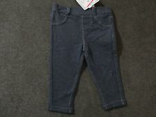 Toys R Us Koala Kids Baby Girl 3-6 Months Jean Look Leggings Jeggings Pants