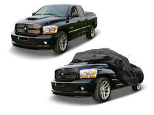 Autoabdeckung.com Housse Couvrante en Polyester pour Dodge Ram Pickup jusqu'à 6,2m - Noire