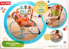 Fisher-Price Infant-to-Toddler Rocker blue animals 5795 ''