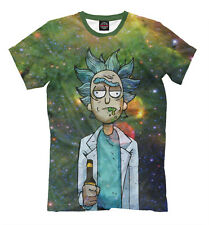 Rick and Morty T-shirt Men's Women's Art New Tee