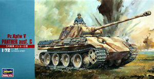 HASEGAWA  Pz.Kpfw V PANTHER ausf G 1/72
