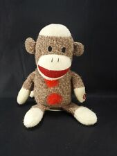 Sock Monkey Gemmy Singing Dynamite Plush Stuffed Animal Toy Taio Cruz