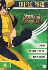 Wolverine And The X-Men Triple Pack DVD 3 Discs)-REGION 4-Brand new-Free postage