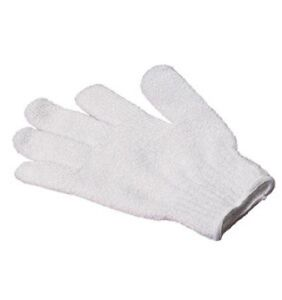 Lot Of 2 Pairs Of Gloves Friction White And Rose Scrub Or Hair Removal Perfect