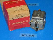 Genuine! HOMELITE A-50676 carburetor Walbro HDC-7, EZ-10 saw, Chipper debarker