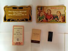 Lot of 5 Sewing Needle Advertising Packs