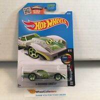 '76 Greenwood Corvette #63 * ZAMAC * 2016 Hot Wheels * HB36