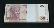 CONGO - BUNDLE LOT of 100 Notes - 50 Francs 2013 - P 97A P97A (UNC)