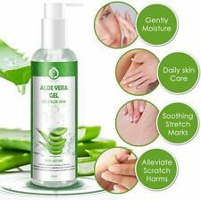 Gel Aloe Vera 100 % Bio Gel Hydratant Visage Corps Cheveux Creme Peau Apres Sole