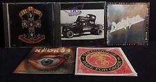 5 CD 80's Metal Rock Block Aerosmith Dokken Krokus Queensryche Guns N Roses GNR