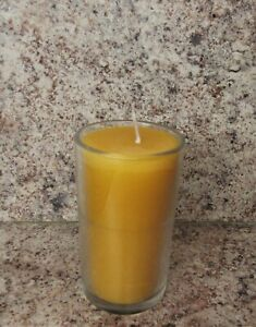 2 Day Memorial Beeswax Candle, Yizkor, Yahrtzeit, Ner Neshomah, Emergency, USA