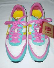 Onitsuka Tiger Ultimate 81 Asics HN8B5 Women's Shoes Sz 7.5 US Pink Yellow Teal