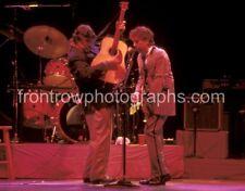 "Rick Danko and Bob Dylan 8""x10"" Color Photo"