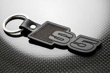 Audi S5 Porte-clés en cuir, keychain, Schlüsselring Porte-clés quattro A5 TFSI B9