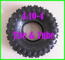 US 4.10-4 410-4 Rear Tyre Tire & Tube For Garden Rototiller Snow Blower Go Cart