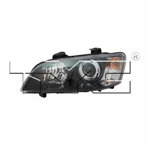 For 2008-2009 Pontiac G8 Sedan Driver Side Headlight Head Light Lamp LH