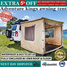 New Adventure Kings Awning Best Tent Camping With Own Floor & Rooftop Waterproof