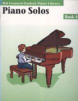 Hal Leonard Student Piano Solos Book 4 Prelude Folk Dance Boogie Blues Capriccio