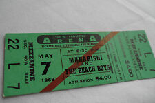 BEACH BOYS Original__1968__CONCERT TICKET - New Haven, CT__EX++