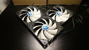 JOBLOT 3X Arctic F12 CPU Case Fans 3pin