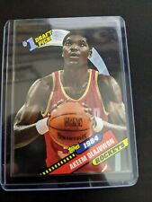 AKEEM OLAJUWON CARD 1984 #1 DRAFT PICK TOPPS Archives 1993 #4