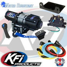 Kfi 4500Lb UTV Winch Set And Mount Kit Fits John Deere Gator XUV 560 S4 16-17