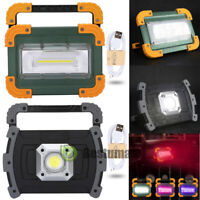 80000LM Rechargeable LED Work Light Emergency Outdoor COB Flashlight Cordless