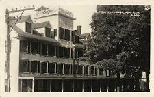 Old Real Photo Postcard - Ashfield House - Ashfield Mass