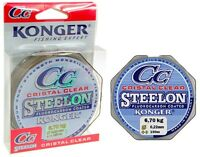 Angelschnur KONGER Cristal Clear Fluorocarbon Coated 0,12-0,50mm/150m Monofile
