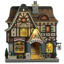 Lemax/95472/The Lanes - Arts And Crafts, Beleuchtete Fassade LED/Weihnachtsdorf