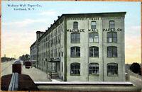 1910 Postcard: Wallace Wall Paper Company - Cortland, New York NY