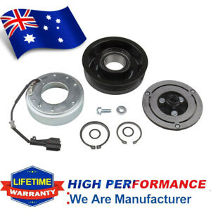 AC Compressor Clutch KIT Plate Bearing Coil Pulley for 2004-2009 MAZDA 3 5 AU