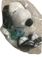 MetLife Snoopy Plush Save Our Planet Earth Day Toy Doll Green Tee Sandals New