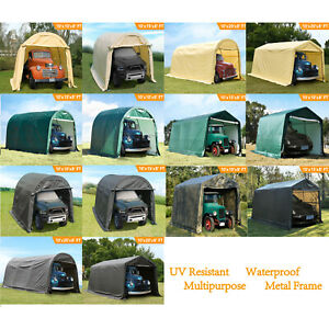 Canopy Carport Tent Car Shed Shelter Logic Outdoor Storage Sun Proof Water UV