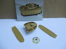 SOLIDO CHAR PZ IV  KIT DE TRANSFORMATION RESINE SABLE TOURELLE + (2) CHURZEN