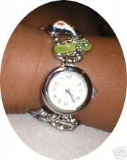 Victorian Flip Flops Enamelled Bracelet Watch