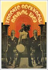 DOORS JOHN LENNON BERRY RICHARD TORONTO ROCK N ROLL REVIVAL 1969 Concert Poster
