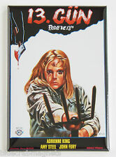 Friday the 13th Part 2 (Turkey) FRIDGE MAGNET (2 x 3 inches) movie poster