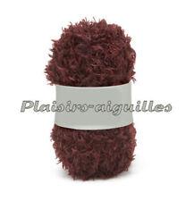 11 pelotes de laine PHIL TEDDY POURPRE neuve