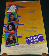 DON'T TELL HER IT'S ME 1990 ORIG ROLLED 1 SHEET MOVIE POSTER BOYFRIEND SCHOOL