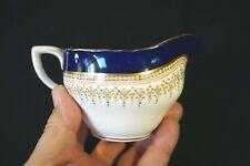 Beautiful Royal Worcester Regency Blue Creamer